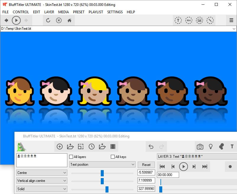 Upcoming feature: full colour emoji 👍 👀 🌮 🌻 | BluffTitler Community