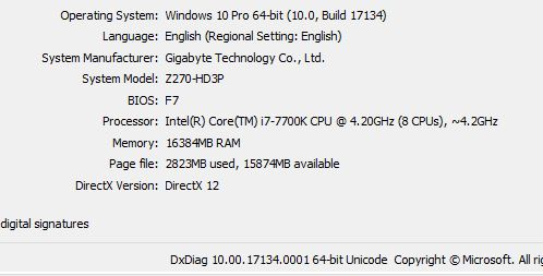 Blufftitler 10 2 asking for DirectX 9 or later, and I have D